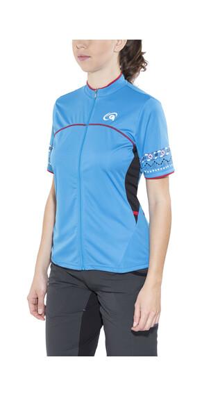 Gonso Jella Bike-Shirt Damen blue aster